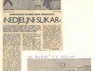 Večernji list 1962